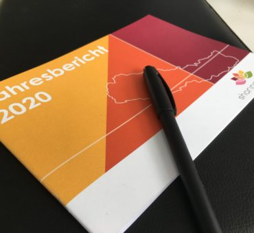 Cover Jahresbericht sharing minds 2020